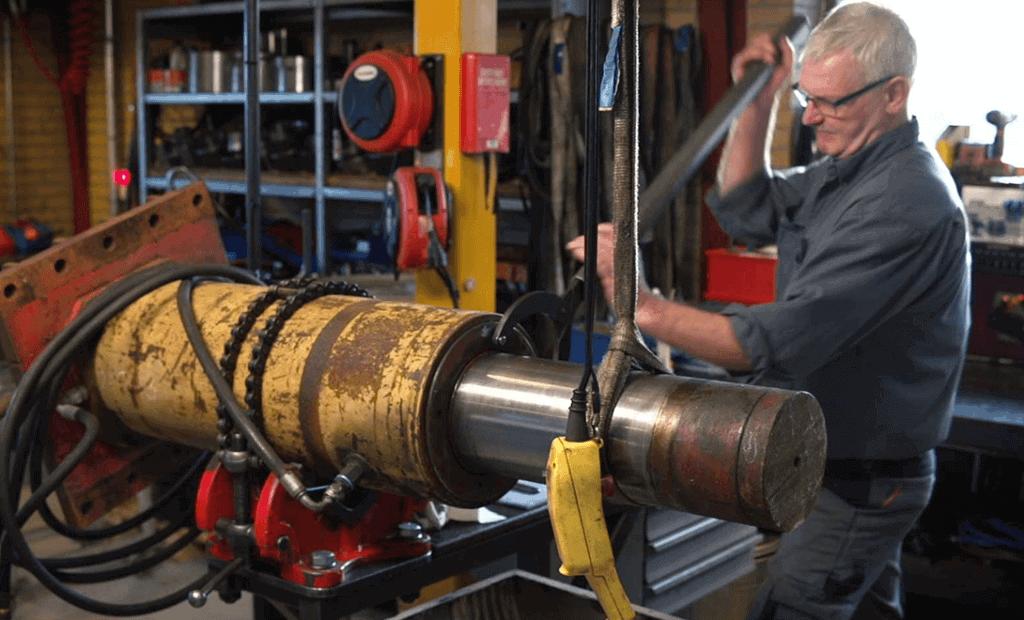 Jymika - Produkter - Hydrauliskcylinder